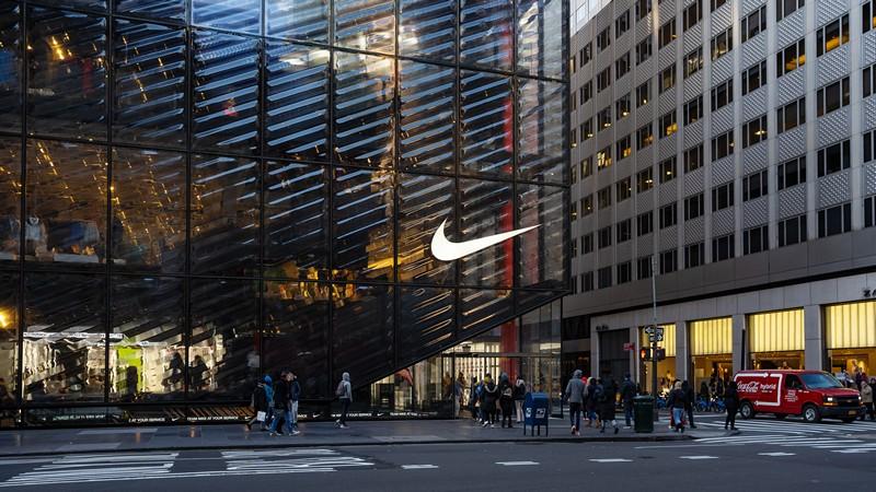Nike sport store in Manhattan